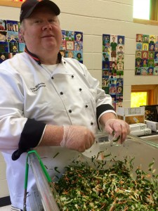 Chef Dan Slobodien of Princeton University's Campus Dining Services.
